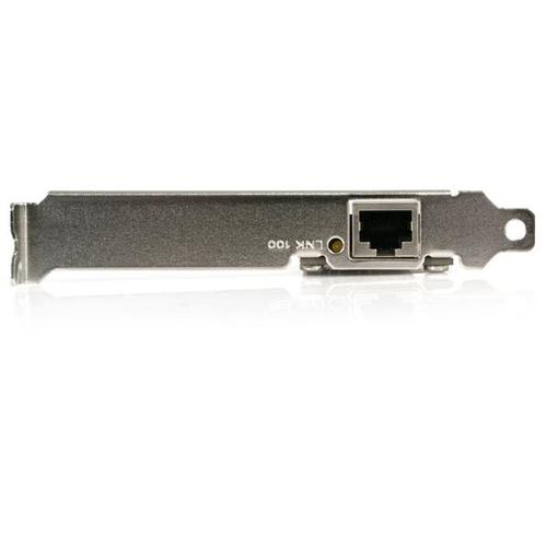 StarTech.com PCI Fast Ethernet Netzwerkkarte - 10 / 100 Mbit/s NIC Lan Karte - PCI - 100 MB/s Datenübertragungsrate - 1 An