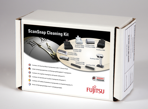 Fujitsu SC-CLE-SS Scanners Equipment cleansing wet cloths equipment cleansing kit