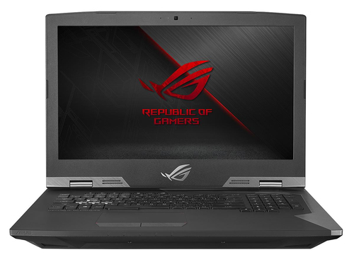 "ASUS ROG G703GS-E5001R notebook Black,Metallic 43.9 cm (17.3"") 1920 x 1080 pixels 8th gen Intel® Core™ i7 i7-8750H 32 GB DDR4-SDRAM 1512 GB Hybrid-HDD+SSD"
