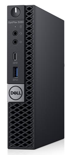 DELL OptiPlex 5060 8th gen Intel® Core™ i5 i5-8500T 8 GB DDR4-SDRAM 256 GB SSD Black Mini PC