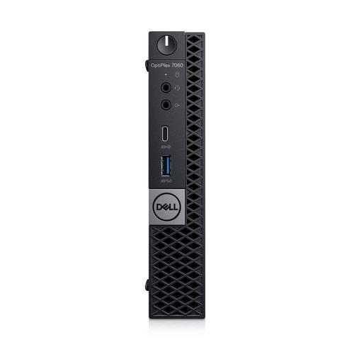 DELL OptiPlex 7060 8th gen Intel® Core™ i5 i5-8500T 8 GB DDR4-SDRAM 256 GB SSD Black Mini PC