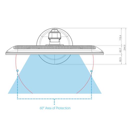 V7 Blickschutzfilter - für 61 cm (24 Zoll) Widescreen Monitor - 16:9
