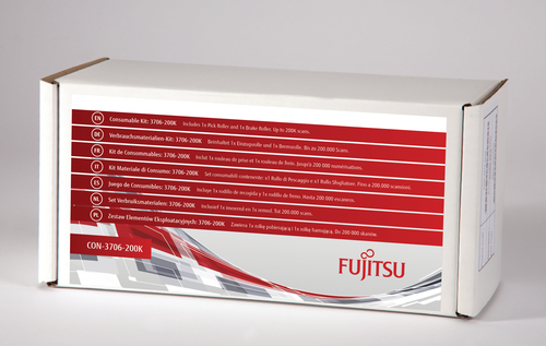 Fujitsu 3706-200K Scanner Consumable kit