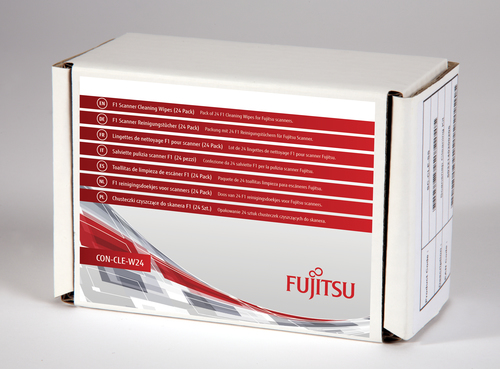 Fujitsu F1 Scanner Cleaning Wipes (24 Pack)