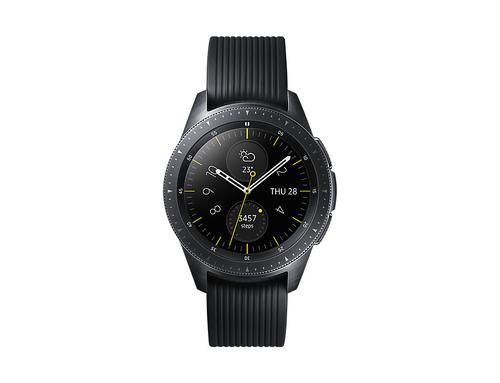 Samsung SM-R810NZKABTU smartwatch Black SAMOLED 3.05 cm (1.2