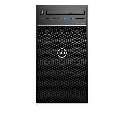 DELL Precision T3630 Intel® Xeon® E-2174G 16 GB DDR4-SDRAM 512 GB SSD Black Tower Workstation