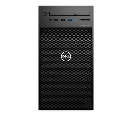 DELL Precision T3630 8th gen Intel® Core™ i5 i5-8500 8 GB DDR4-SDRAM 256 GB SSD Black Tower Workstation