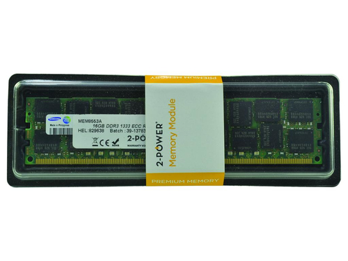 2-Power 16GB DDR3 1333MHz RDIMM LV Memory - replaces KCS-B200ALV/16G