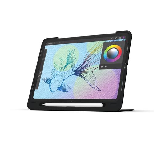 ZAGG Slim Book Go. Keyboard layout: QWERTZ, Keyboard language: German. Brand compatibility: Apple, Compatibility: iPad Pro