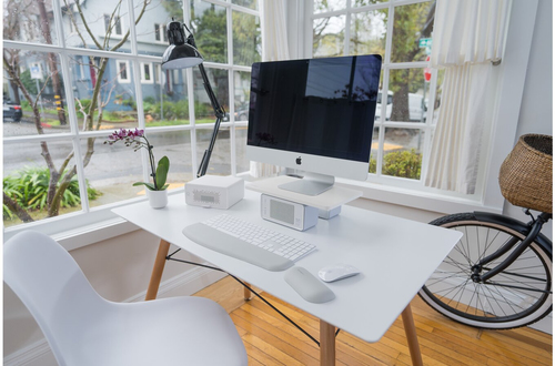 Kensington CoolView™ Wellness Monitor Stand with Desk Fan. Mounting: Freestanding, Maximum weight capacity: 90.7 kg, Maxim