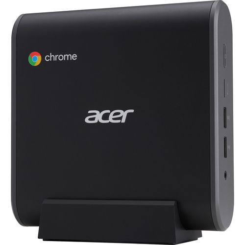 Acer Chromebox CXI3 Intel® Celeron® 3867U 4 GB DDR4-SDRAM 32 GB SSD Black Mini PC