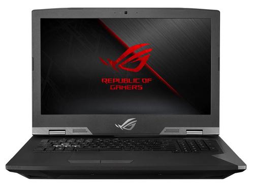 "ASUS ROG G703GXR-EV022R notebook Titanium 43.9 cm (17.3"") 1920 x 1080 pixels 9th gen Intel® Core™ i9 i9-9980HK 32 GB DDR4-SDRAM 2024 GB Hybrid-HDD+SSD"