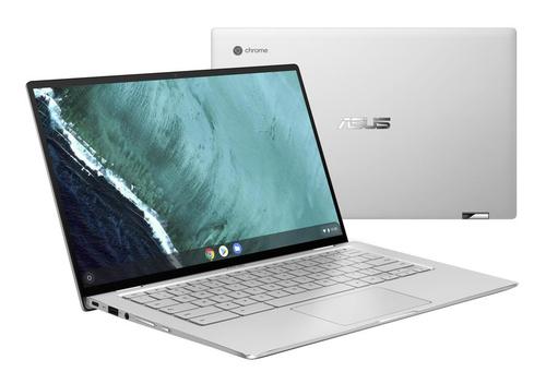 "ASUS Chromebook Flip C434TA-AI0109 notebook Silver Hybrid (2-in-1) 35.6 cm (14"") 1920 x 1080 pixels Touchscreen 8th gen Intel® Core™ i5 i5-8200Y 8 GB LPDDR3-SDRAM 128 GB eMMC"