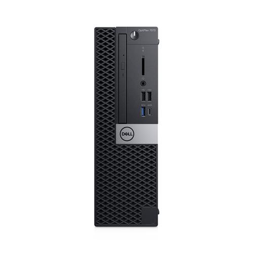DELL OptiPlex 7070 9th gen Intel® Core™ i5 i5-9500 8 GB DDR4-SDRAM 256 GB SSD Black SFF PC