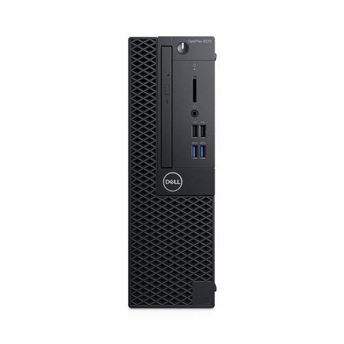 DELL OptiPlex 3070 9th gen Intel® Core™ i5 i5-9500 8 GB DDR4-SDRAM 256 GB SSD Black SFF PC