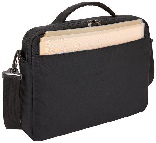"""Thule Subterra Carrying Case (Attaché) for 33 cm (13"""") Apple iPad MacBook, Document, Accessories - Black - Water Resistant"""