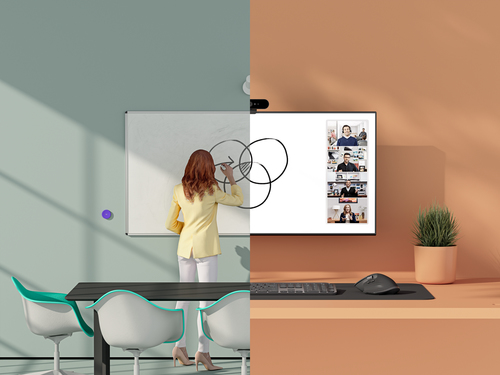 Logitech Scribe. Máxima resolución de video: 1920 x 1080 Pixeles, Velocidad máxima de cuadro: 15 pps, Tipo HD: Full HD. Co
