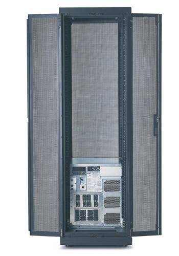 APC Symmetra LX rackmount 4- 8kVA 1+3-Faseblack 13U 4000VA uninterruptible power supply (UPS)