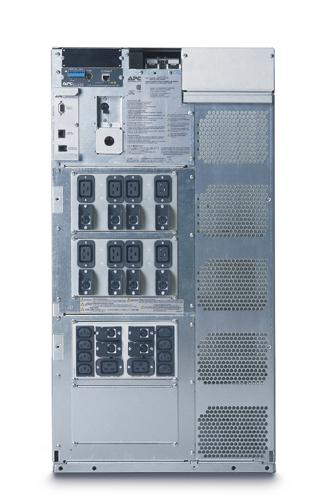 APC Symmetra LX rackmount 8-16kVA 1+3-Faseblack 19U 8000VA uninterruptible power supply (UPS)