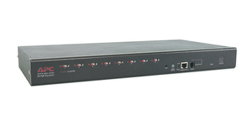 APC 8 Port Multi-Platform Analog KVM 1U KVM switch