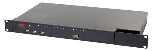 APC KVM0216A 1U Black KVM switch