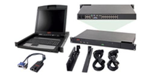 APC 2x1x16 IP KVM w/ 17
