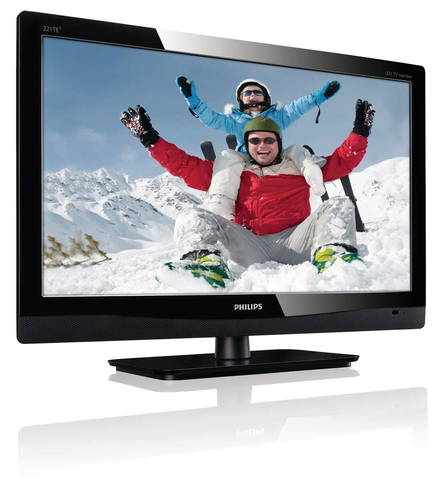 Philips LCD monitor, LED backlight 221TE4LB/00