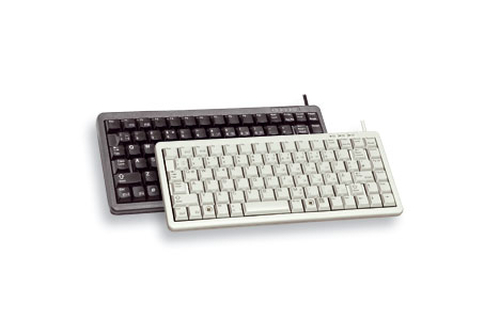 CHERRY Compact , Combo (USB + PS/2), ES keyboard USB + PS/2 QWERTY Black