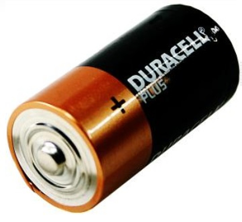 Duracell Plus Power C, 6 Pack Alkaline 1.5V non-rechargeable battery