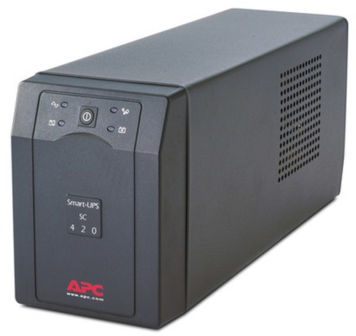 APC Smart-UPS Line-Interactive 420VA 4AC outlet(s) Tower Grey uninterruptible power supply (UPS)