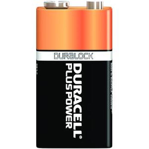 Duracell Plus Power 9v Alkaline 9V non-rechargeable battery