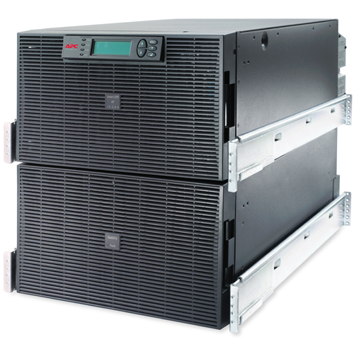 APC Smart-UPS On-Line Double-conversion (Online) 15000VA 8AC outlet(s) 12U Black uninterruptible power supply (UPS)