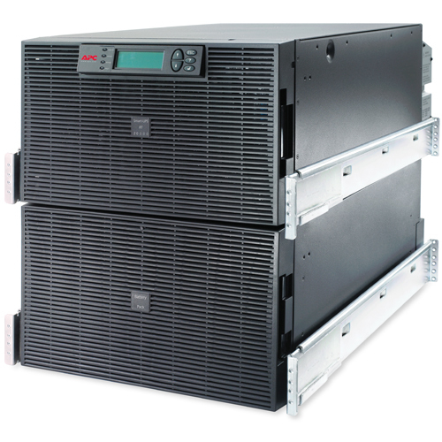 APC Smart-UPS On-Line Double-conversion (Online) 20000VA 8AC outlet(s) 12U Black uninterruptible power supply (UPS)