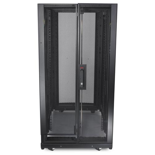 APC NetShelter SX 24U 600mm x 1070mm Deep Enclosure Freestanding rack 1363.64kg Black rack