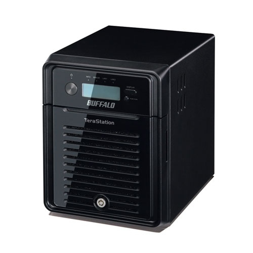 Buffalo TeraStation 3400 4TB Storage server Mini Tower Ethernet LAN Black