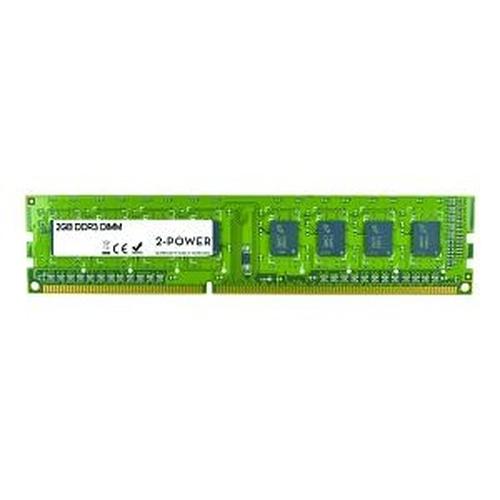 2-Power 2GB DDR3 1333MHz SR DIMM 2GB DDR3 1333MHz memory module
