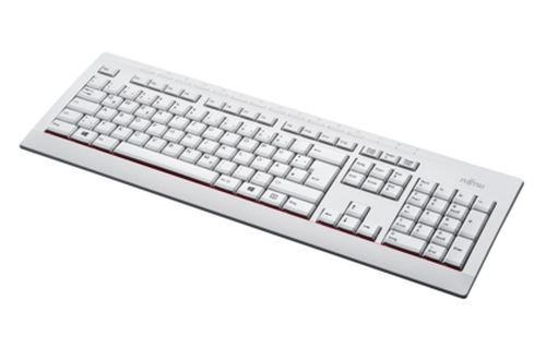 Fujitsu KB521 UK USB QWERTY English Grey