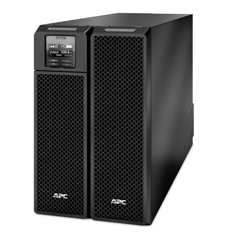 APC Smart-UPS On-Line Double-conversion (Online) 10000VA 10AC outlet(s) Rackmount/Tower Black uninterruptible power supply (UPS)