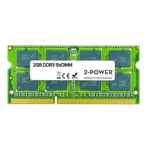 2-Power 2GB DDR3 SODIMM 2GB DDR3 1600MHz memory module