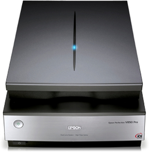 Epson Perfection V850 Flatbed scanner 6400 x 9600DPI A4 Black, Metallic