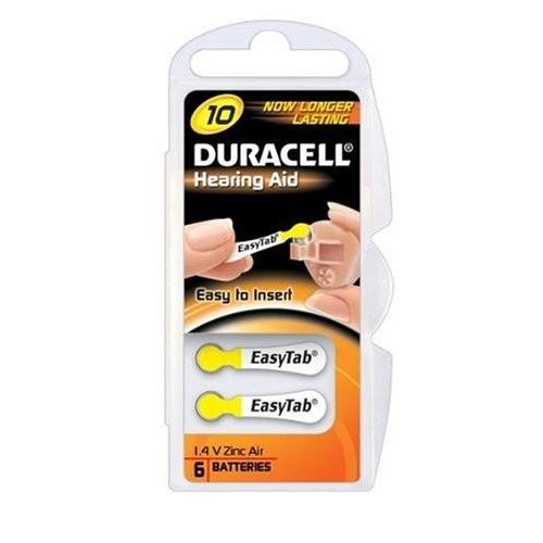 Duracell DA10 Zinc-Air 1.4V non-rechargeable battery