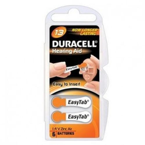 Duracell DA13 Zinc-Air 1.4V non-rechargeable battery