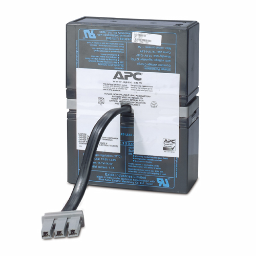 APC Replacement Battery Cartridge #33 Sealed Lead Acid (VRLA) rechargeable battery