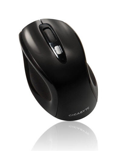Gigabyte GM-M7600 RF Wireless Optical 800DPI Black mice