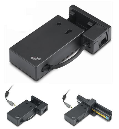 Lenovo ThinkPad External Battery Charger Indoor battery charger Black