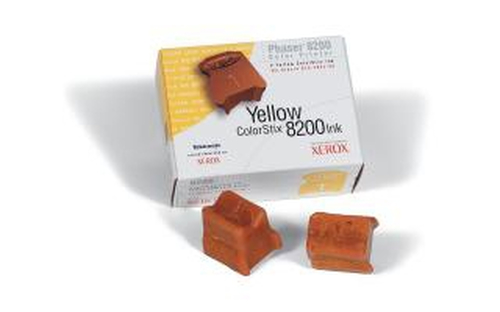 Xerox GENUINE 2 YELLOW COLORSTIX 8200 IN ink stick