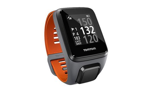 TomTom Golfer 2 SE GPS Watch - Grey/Orange