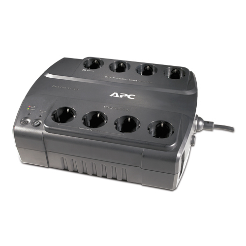 APC BE700G Standby (Offline) 700VA Black uninterruptible power supply (UPS)