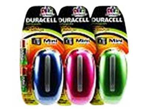 Duracell Mini Charger Colour (Box of 6)