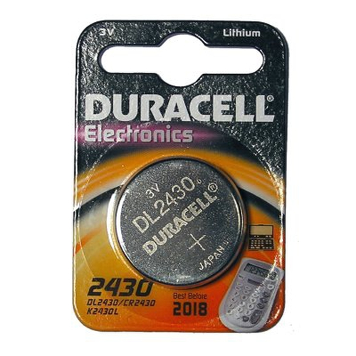 Duracell DL2430 Lithium 3V non-rechargeable battery